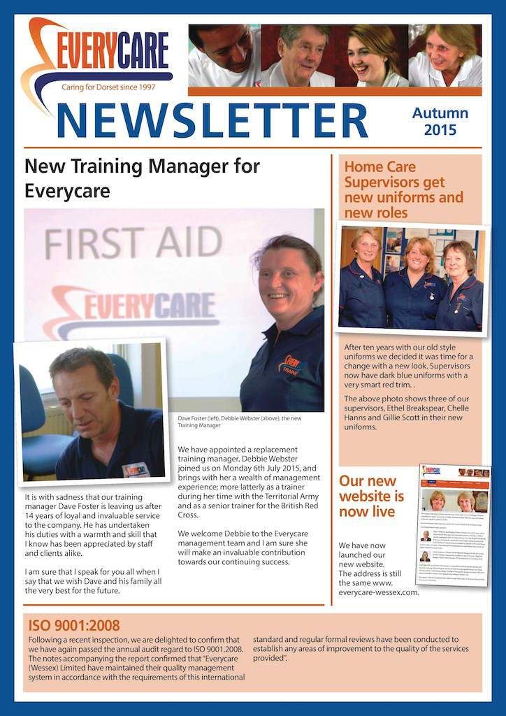 Our Autumn Newsletter